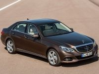 Face-lifted Mercedes-Benz E-Class