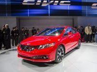 2013 Honda Civic at the 2012 LA Auto Show