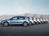 six generations of volkswagen golf