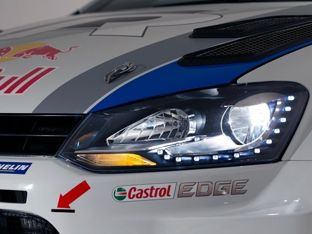 Volkswagen Polo R WRC rally car
