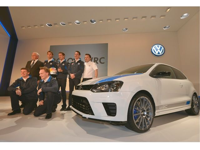 2013 Volkswagen Polo R WRC world premiere in Monaco