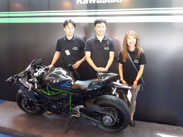 Kawasaki Ninja H2 launch