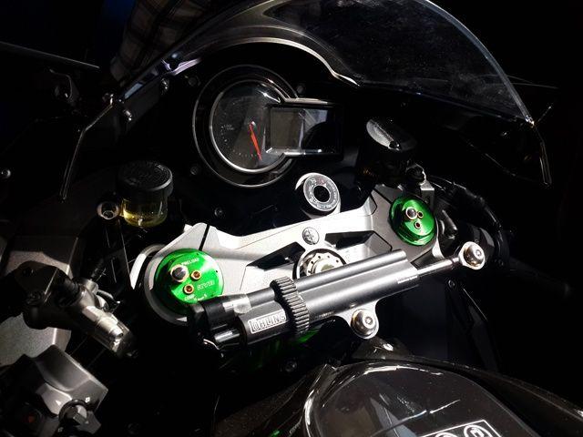 Kawasaki Ninja H2 cockpit