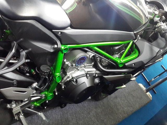 Kawasaki Ninja H2 trellis frame