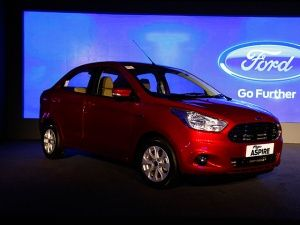 All new Ford Figo front static