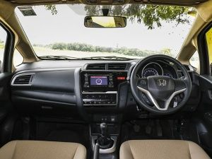 2015 Honda Jazz interior