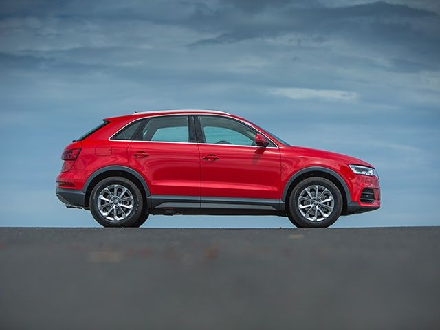 Audi Q3 facelift side india