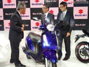 2016 Auto Expo: New Suzuki Access 125 Photo Gallery