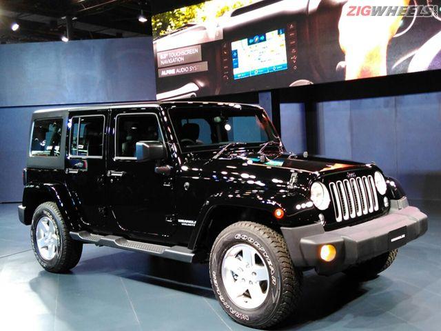 2016 Auto Expo: Jeep pavilion Photo Gallery