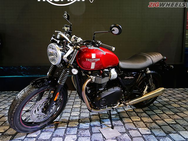 2016 Auto Expo: Triumph Bonneville Street Twin Photo Gallery
