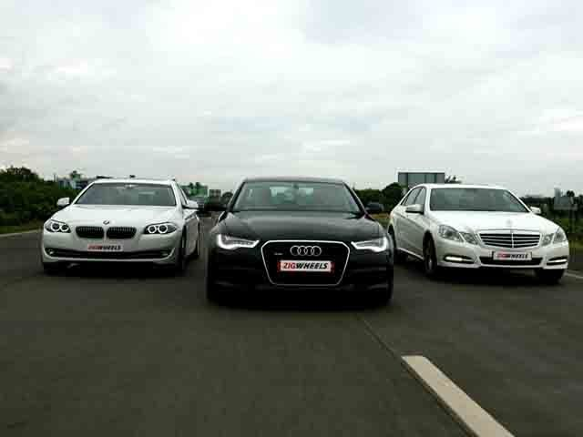 Bmw Audi Mercedes Wallpaper Audi a6 vs Bmw 5 vs Mercedes e