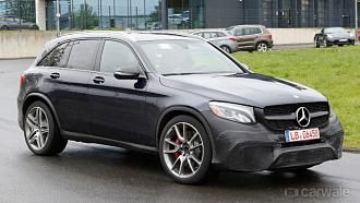 2017 Mercedes Benz GLC AMG Caught Testing