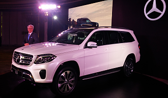 2016 Mercedes Benz GLS 350D Launch in India