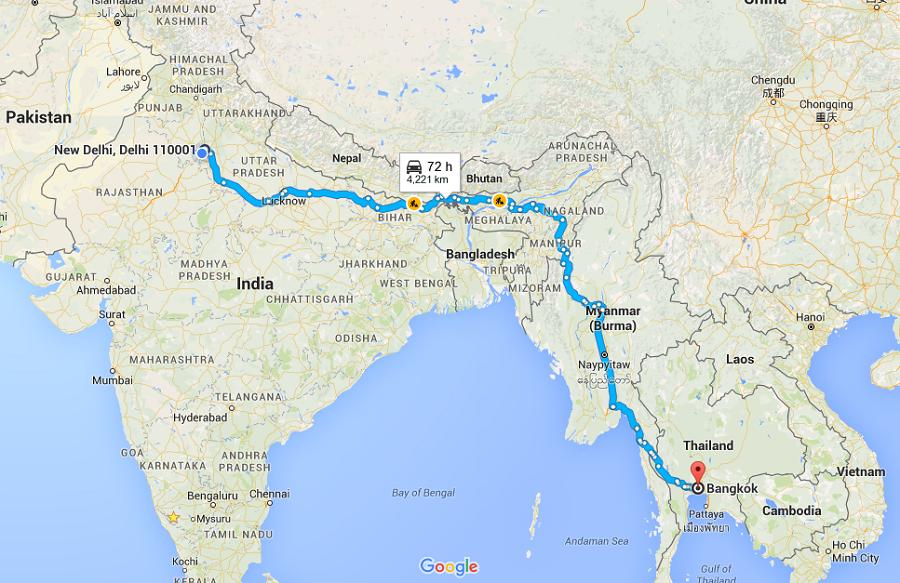 India Myanmar Thaila