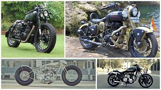 Modified Royal Enfield Bikes
