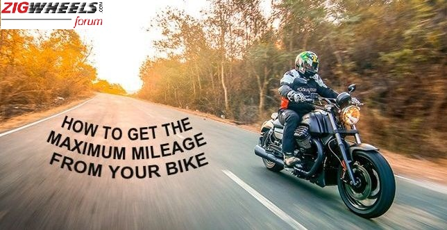 How To Get The Maximum Fuel Efficiency From Your Bike - ZigWheels Forum