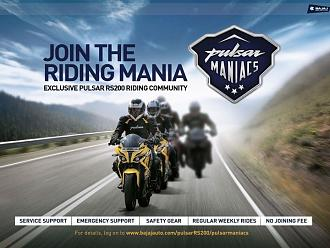 Bajaj Launches Riding Community for Pulsar and Avenger Owners