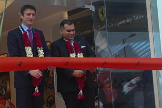 Delhi gets new Ferrari dealership