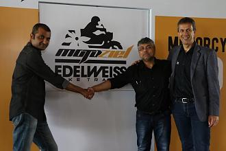Motoziel and Edelweiss Bike Travel Announce Joint Venture