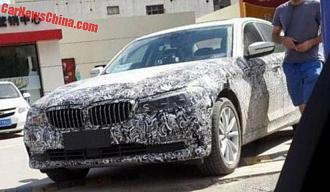 Upcoming BMW 5 Series Spied !
