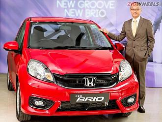 Honda Brio Facelift Launched At Rs 4.69 Lakh