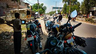 The Golden Triangle Ride With The Indian Mastiffs Motorcycle Club