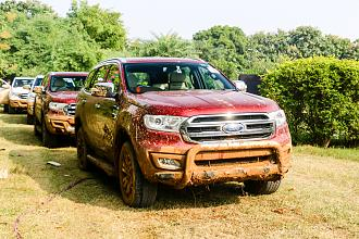 The Great Ford Endeavour Off-Road Drive 2016 - Gurgaon Edition