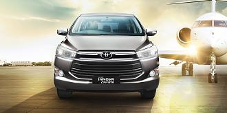 Toyota Innova Crysta 2.8 AT In Pictures