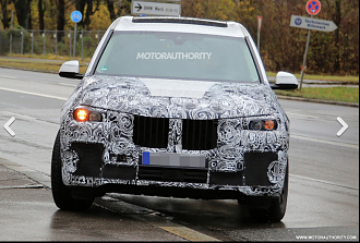 All New BMW X7 Spied in Europe