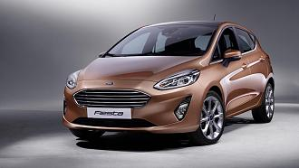 Ford Fiesta Unveiled