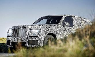 Rolls Royce Cullinan SUV Revealed