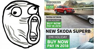 What is the Skoda EMI Holiday Scheme?