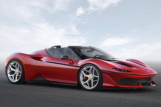 Japan-only Ferrari J50 unveiled
