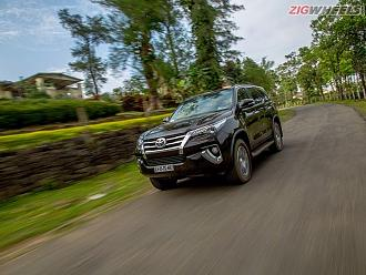 Toyota Fortuner Petrol AT Driven