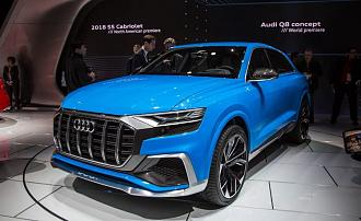 Audi Q8 Concept Showcased At 2017 NAIAS