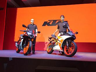 2017 KTM RC 390 and RC 200 Launch and Updates