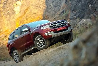 Ford Endeavour launch: Updates