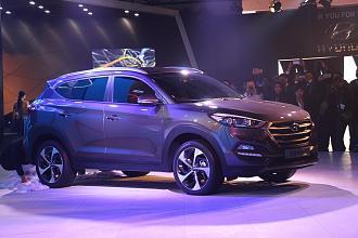Auto Expo 2016: Hyundai Unveils Tucson