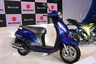 Auto Expo 2016: Suzuki Unveils New Access 125 & Variants of Gixxer, Gixxer SF.