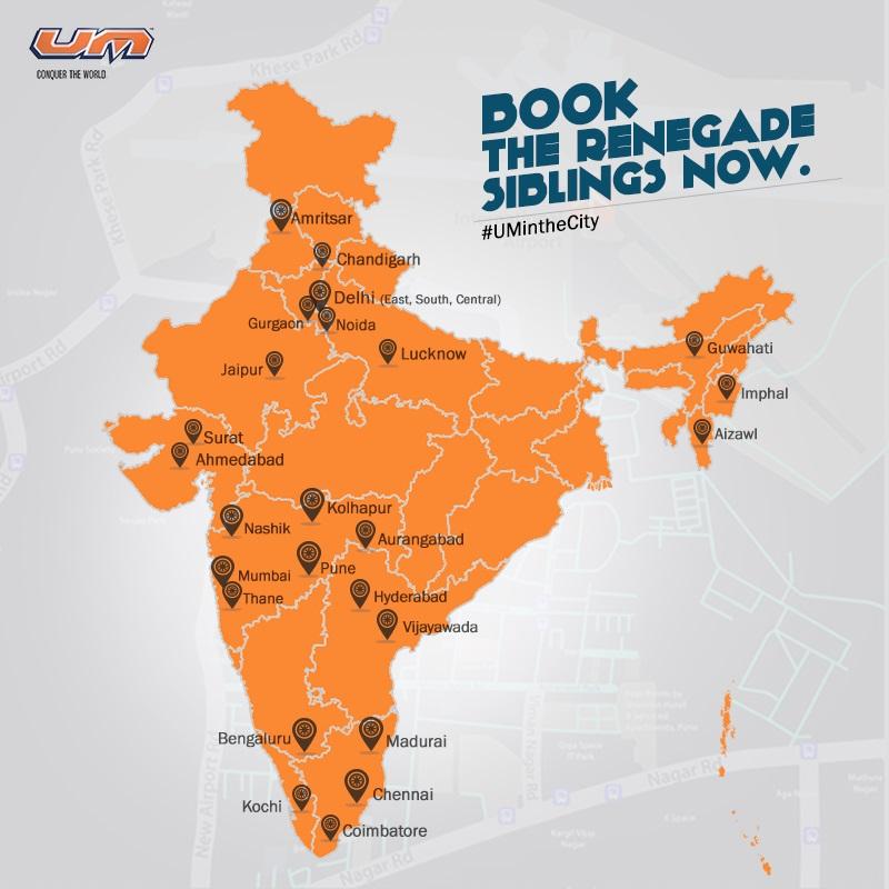 Um motorcycles dealership network within india zigwheels forum gumiabroncs Choice Image