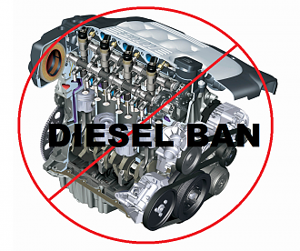 30% green tax on diesels?